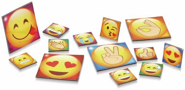 Kühlschrank-Magnete Emoji, 13-teilig - Produktbild 2