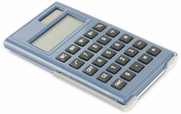 Taschenrechner D3-3, Dual-Power, blau - Produktbild 1