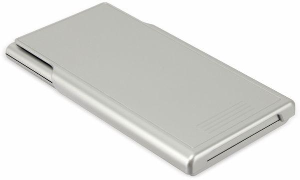 Wissenschaftlicher Taschenrechner D1-5, Dual-Power, silber - Produktbild 4