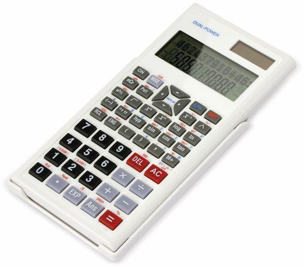 Wissenschaftlicher Taschenrechner D1-5, Dual-Power, weiß - Produktbild 3