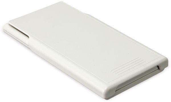 Wissenschaftlicher Taschenrechner D1-5, Dual-Power, weiß - Produktbild 4