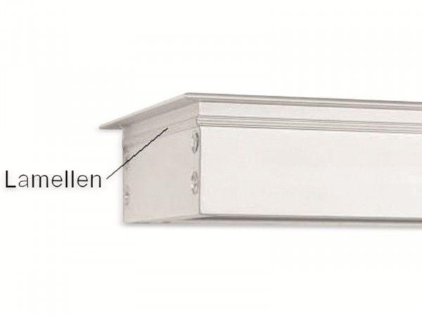 Kabelauslass 80x160 mm Einbau, Alu - Produktbild 3