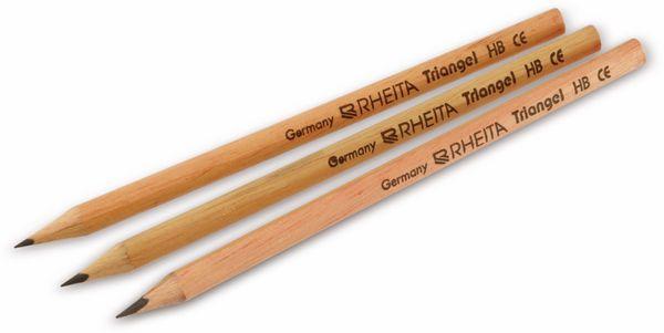 Bleistift, RHEITA, 3-kant, 3 Stück