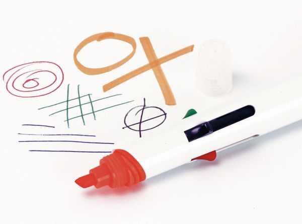 Kugelschreiber, vierfarbig mit orangenen Marker - Produktbild 2