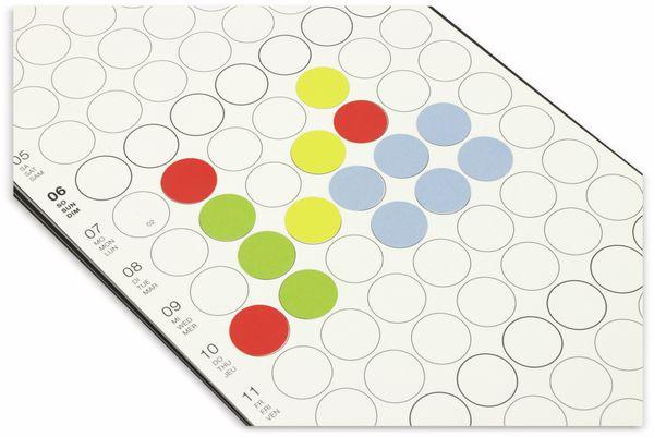 Kalender, Dot On, Monatsplaner, 2019, B-Ware - Produktbild 3