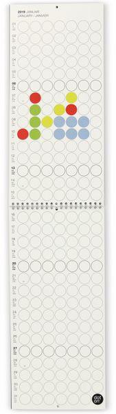 Kalender, Dot On, Monatsplaner, 2019, B-Ware - Produktbild 6