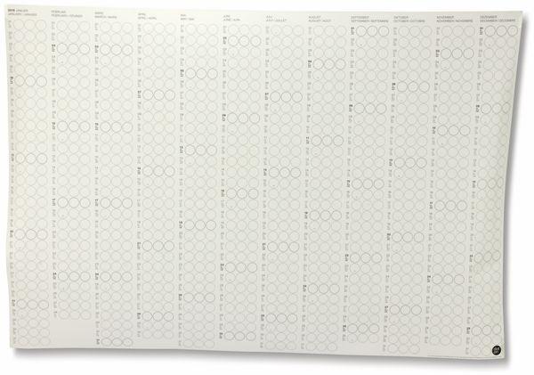Kalender, Dot On, Jahresplaner, 2019, B-Ware - Produktbild 4