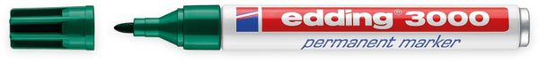 EDDING, 4-3000004, e-3000 permanent marker grün