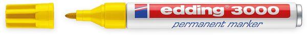 EDDING, 4-3000005, e-3000 permanent marker gelb