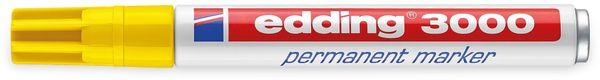 EDDING, 4-3000005, e-3000 permanent marker gelb - Produktbild 2
