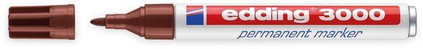 EDDING, 4-3000007, e-3000 permanent marker braun