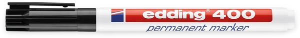 EDDING, 4-400001, e-400 permanent marker schwarz - Produktbild 2