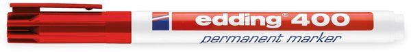 EDDING, 4-400002, e-400 permanent marker rot - Produktbild 2