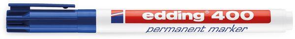 EDDING, 4-400003, e-400 permanent marker blau - Produktbild 2