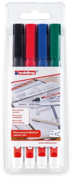 EDDING, 4-400-4, e-400/4 S Prof. permanent marker set
