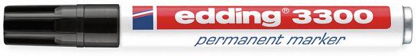 Permanent-Marker EDDING, e-3300, schwarz - Produktbild 2
