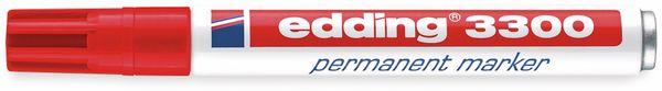Permanent-Marker EDDING, e-3300, rot - Produktbild 2