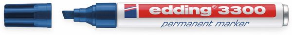 Permanent-Marker EDDING, e-3300, blau - Produktbild 2