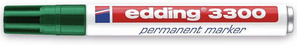 Permanent-Marker EDDING, e-3300, grün