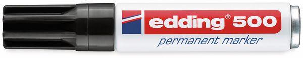 Permanent-Marker, EDDING, e-500, schwarz