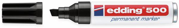 Permanent-Marker, EDDING, e-500, schwarz - Produktbild 2