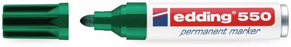 Permanent-Marker, EDDING, e-550, grün - Produktbild 2