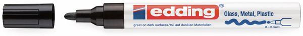 Paint-Marker, EDDING, e-750 CR, schwarz - Produktbild 2