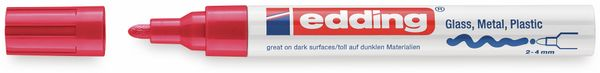 Paint-Marker, EDDING, e-750 CR, rot - Produktbild 2