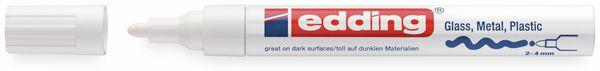 Paint-Marker, EDDING, e-750 CR, weiß - Produktbild 2