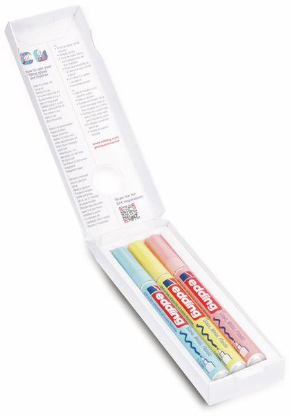 Paint-Marker-Set, EDDING, e-751/3 S CR, 3 Stück, pastell, sortiert - Produktbild 3