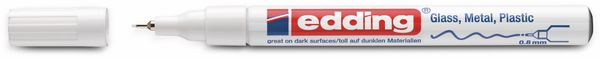 Paint-Marker, EDDING, e-780 CR, weiß - Produktbild 2
