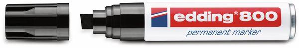 Permanent-Marker, EDDING, e-800, schwarz