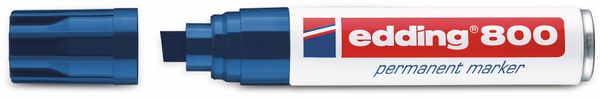 Permanent-Marker, EDDING, e-800, blau - Produktbild 2