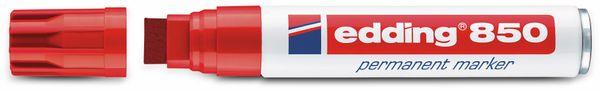 Permanent-Marker, EDDING. e-850, rot - Produktbild 2