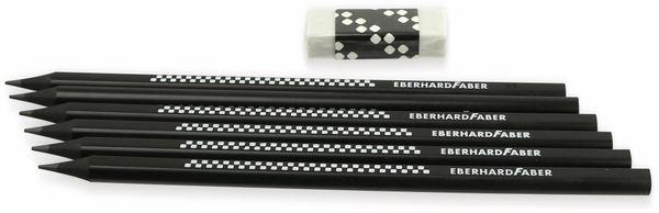 Bleistift Winner HB schwarz, 6 Stück, Eberhard Faber 510198 - Produktbild 2