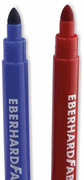 Jumbomarker, auswaschbar, 10 Farben, Eberhard Faber 551210 - Produktbild 3