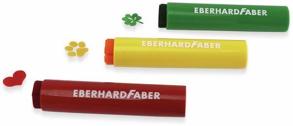 Megamarker mit Stempelspitze, 5 Farben, abwaschbar, Eberhard Faber 550006 - Produktbild 3