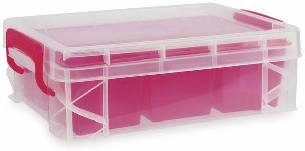 Aufbewahrungsbox, 190x82x254 mm, verschiedene Farben