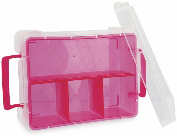 Aufbewahrungsbox, 190x82x254 mm, verschiedene Farben - Produktbild 2