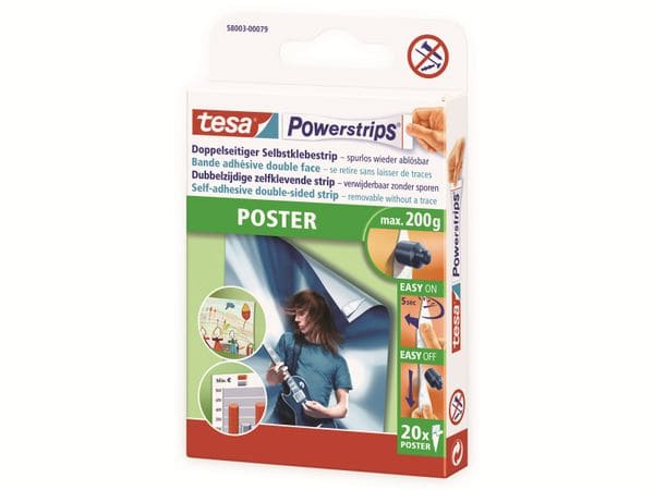 tesa Powerstrips® Poster, 58003-00079-21 - Produktbild 3