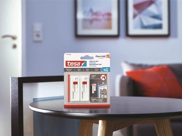 tesa® Klebenagel verstellbar, Tapete&Putz, 1 kg , 2 x 1KG , 77774-00000-00 - Produktbild 13