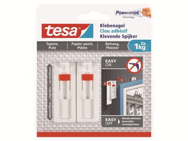 tesa® Klebenagel verstellbar, Tapete&Putz, 1 kg , 2 x 1KG , 77774-00000-00 - Produktbild 15