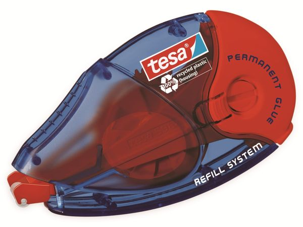 tesa® Roller Kleben permanent ecoLogo®, Nachfüllroller, 14m:8,4mm, 59100-00005-06