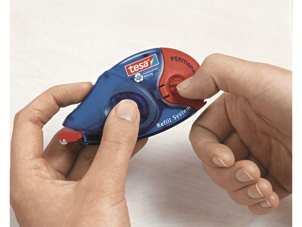tesa® Roller Kleben permanent ecoLogo®, Nachfüllroller, 14m:8,4mm, 59100-00005-06 - Produktbild 3