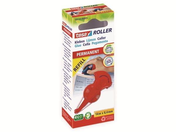 tesa® Roller Kleben permanent ecoLogo®, Nachfüllkassette, 14m:8,4mm, 59110-00005-06 - Produktbild 2