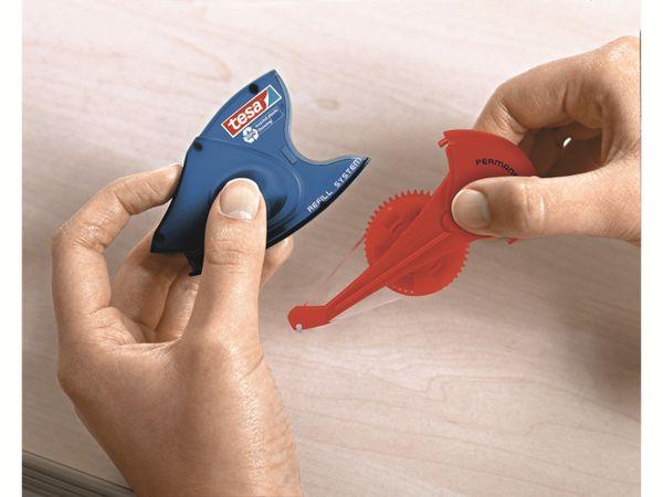tesa® Roller Kleben permanent ecoLogo®, Nachfüllkassette, 14m:8,4mm, 59110-00005-06 - Produktbild 4