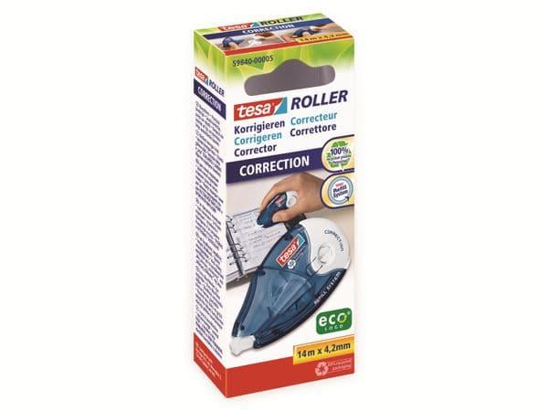 tesa Roller Korrigieren ecoLogo® Nachfüllroller, 14m:4,2mm, 59840-00005-05 - Produktbild 2