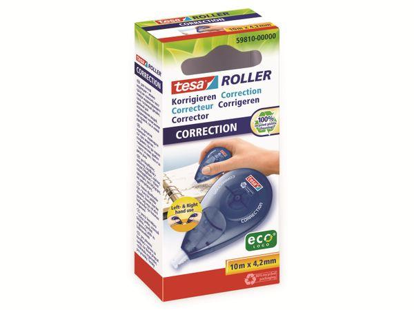 tesa Roller Korrigieren ecoLogo® Seitwärtsroller, 10m:4,2mm, 59810-00000-01 - Produktbild 2