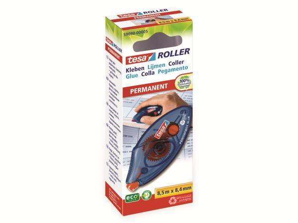 tesa® Roller Kleben permanent ecoLogo®, Einwegroller, 8,5m:8,4mm, 59090-00005-03 - Produktbild 2