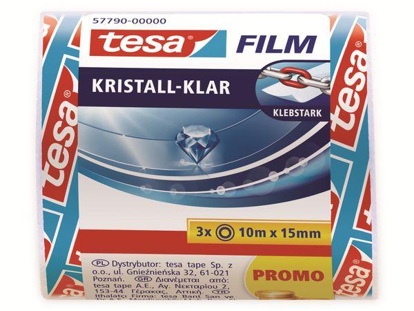 tesafilm® kristall-klar, 3 Rollen, 10m:15mm, 57790-00000-01 - Produktbild 5